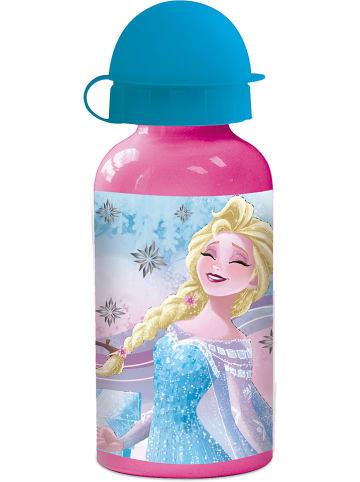 """FROZEN Trinkflasche """"Frozen"""" in Rosa/ Hellblau - 400 ml"""
