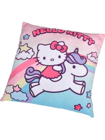 """Hello Kitty Kussen """"Hello Kitty - Eenhoorn"""" lichtroze/roze - (L)35 x (B)35 cm"""