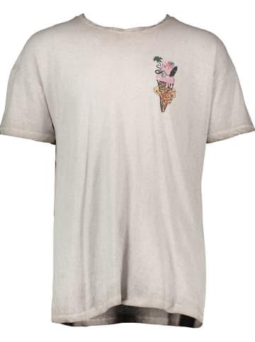 """Tigha Koszulka """"Ice cream"""" w kolorze jasnoszarym"""
