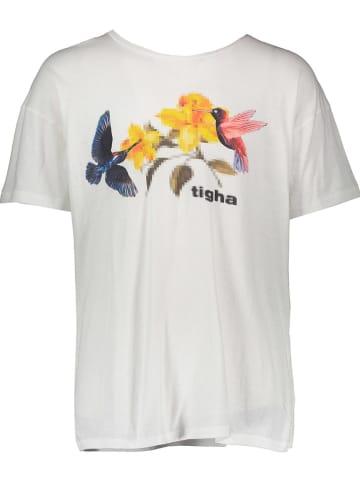 "Tigha Shirt ""Hummingbird"" wit"