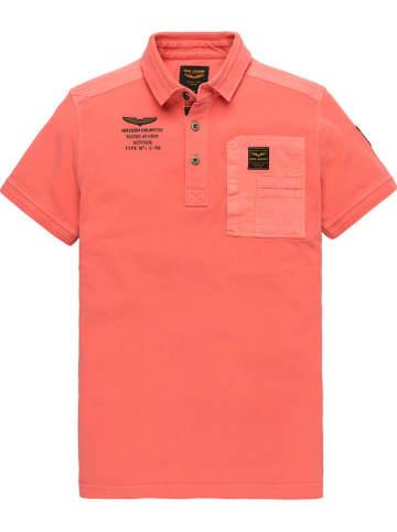 PME Legend Poloshirt koraalrood