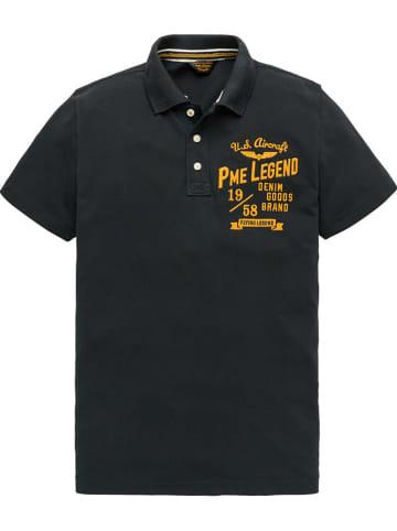 PME Legend Poloshirt in Schwarz