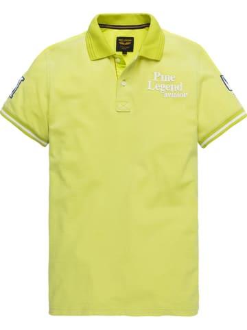 PME Legend Poloshirt geel
