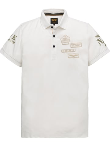 PME Legend Poloshirt wit