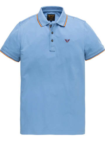 PME Legend Poloshirt lichtblauw