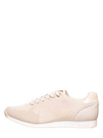 """Mexx Sneakersy """"Cato"""" w kolorze kremowym"""