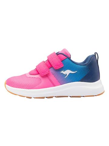 """Kangaroos Buty sportowe """"KB-Agil"""" w kolorze granatowo-różowym"""