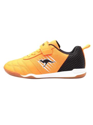 """Kangaroos Buty sportowe """"Super Court"""" w kolorze pomarańczowym"""
