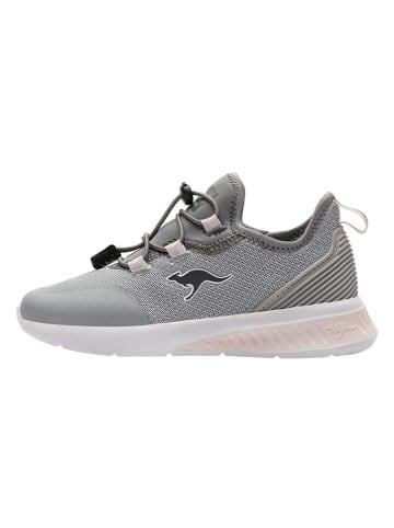 "Kangaroos Sneakersy ""KL-Tech"" w kolorze szarym"