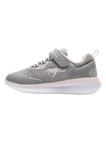 "Kangaroos Sneakers ""KQ-Fleet"" grijs"