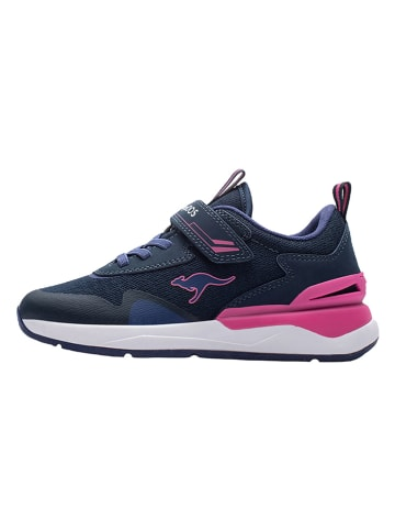 "Kangaroos Sneakers ""KD-Gym"" donkerblauw"