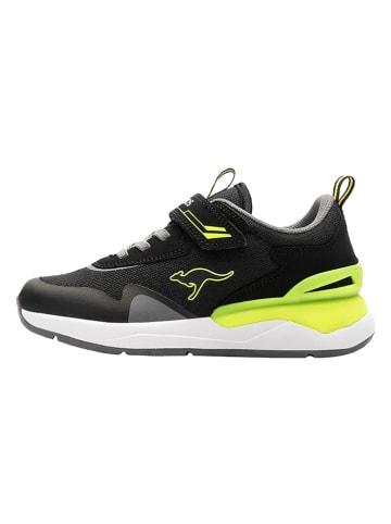 """Kangaroos Sneakers """"KD-Gym"""" zwart"""