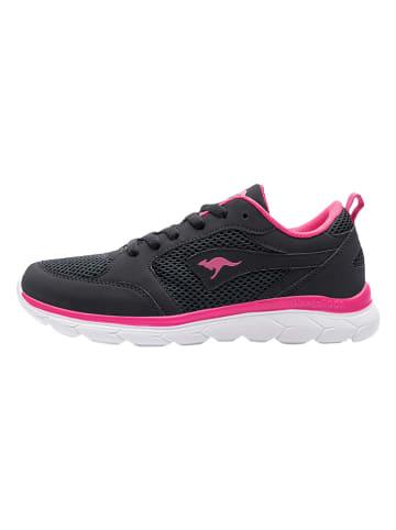 """Kangaroos Sneakers """"KN-Rimble"""" zwart"""