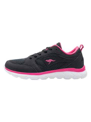"Kangaroos Sneakersy ""KN-Rimble"" w kolorze czarnym"
