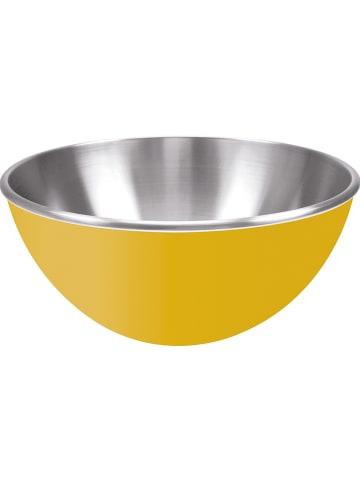 """Zak! designs Miska """"Gemini"""" w kolorze żółtym - wys. 13 Ø 25 cm"""