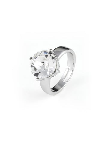 Van Crystals Pozłacany pierścionek z kryształem Swarovskiego