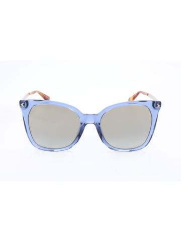 """Givenchy Okulary przeciwsłoneczne """"GV 7097/S"""" w kolorze srebrno-niebieskim"""