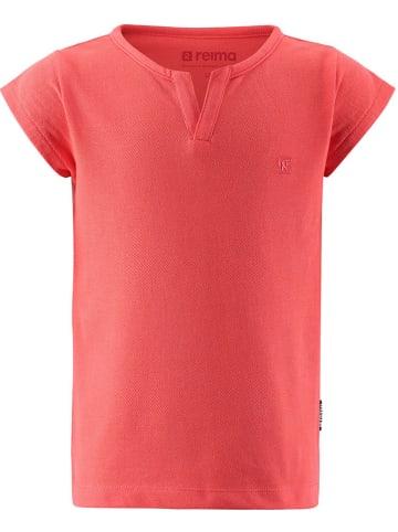 """Reima Koszulka """"Amsterdam"""" w kolorze pomarańczowym"""