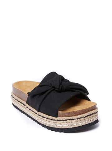 Mandel Klapki w kolorze czarnym