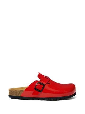 Mandel Clogs rood