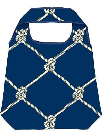 """Moses. Shopper """"Knoten"""" in Blau - (B)50 x (H)70 cm"""
