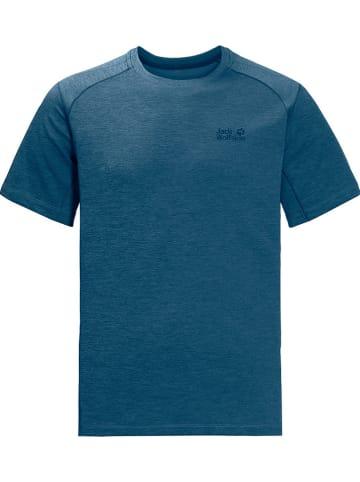 "Jack Wolfskin Functioneel shirt ""Hydropore XT"" donkerblauw"