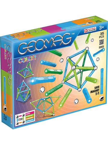 """Geomag 35-częściowy zestaw magnetyczny """"Color"""" - 3+"""
