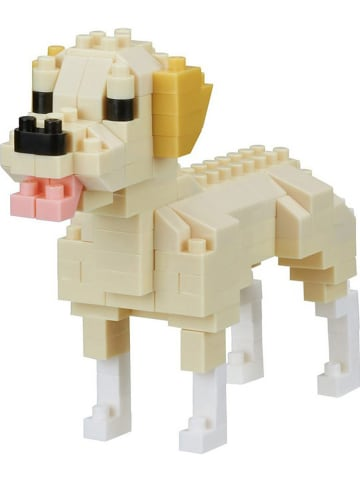 """Nanoblock 140-częściowe puzzle 3D """"Labrador Retriever"""" - 12+"""
