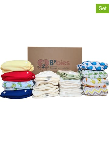 "B'bies 43-delige luierset ""All in Two"" meerkleurig - 3-17 kg"