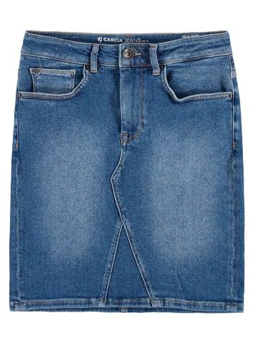 Garcia Spódnica dżinsowa w kolorze niebieskim