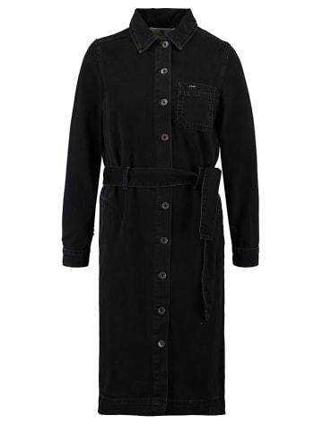 Garcia Sukienka dżinsowa w kolorze czarnym