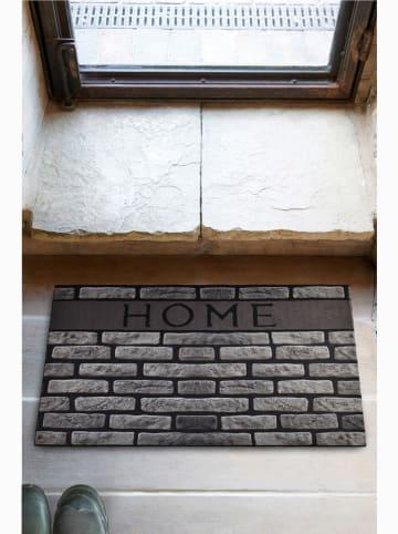 """Mioli Wycieraczka """"Home"""" w kolorze szarym - 70 x 45 cm"""