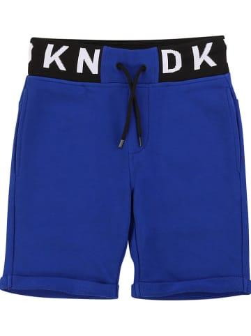 DKNY Sweatbermuda blauw