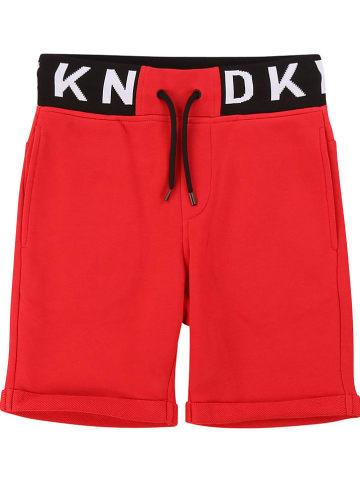 DKNY Sweatbermuda rood