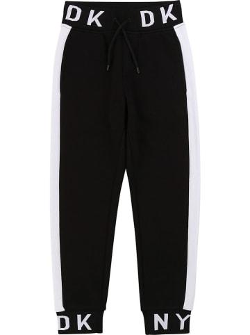 DKNY Spodnie dresowe w kolorze granatowym