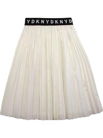 DKNY Spódnica w kolorze kremowym