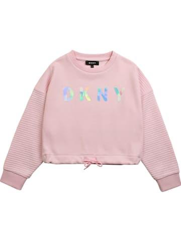 DKNY Sweatshirt lichtroze