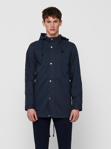 """ONLY & SONS Parka """"Alex"""" donkerblauw"""