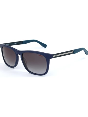 Hugo Boss Damen-Sonnenbrille in Blau/ Schwarz