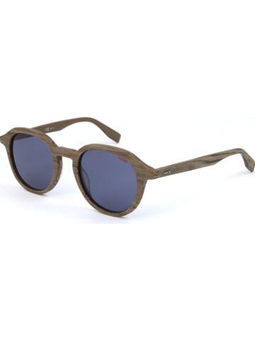 Hugo Boss Dameszonnebril bruin/blauw