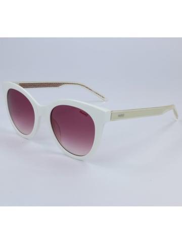Hugo Boss Dameszonnebril wit-beige/paars