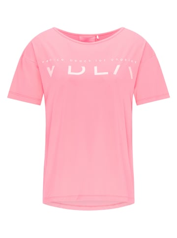 """CURVY FIT BY VENICE BEACH Trainingsshirt """"Tiana"""" in Pink"""