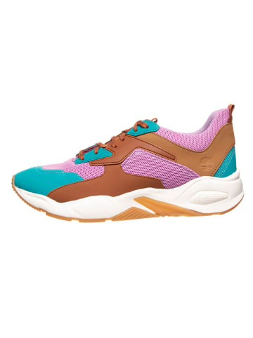 "Timberland Sneakers ""Delphiville"" roze/turquoise - wijdte W"