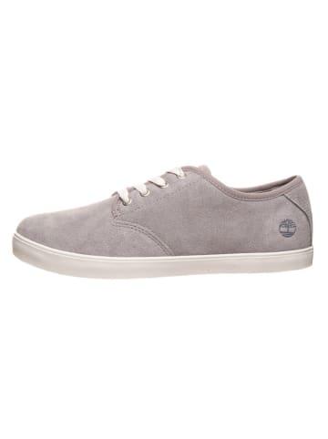 """Timberland Leren sneakers """"Dausette"""" grijs - wijdte W"""