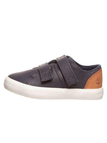 """Timberland Leren sneakers """"Newport Bay"""" donkerblauw - wijdte M"""