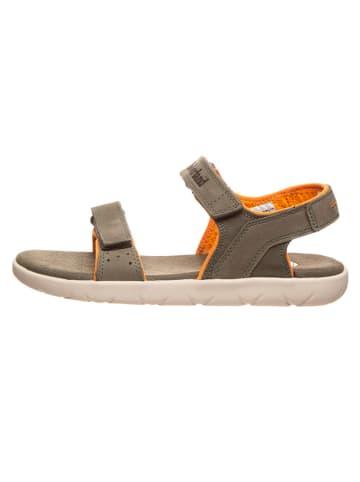"Timberland Leren sandalen ""Nubble"" kaki - wijdte M"