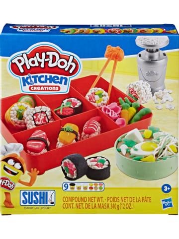 Play-doh Sushi Spielset mit Zubehör - ab 3 Jahren - 340 g