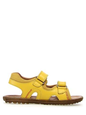 """Naturino Leder-Sandalen """"Himmel"""" in Gelb"""