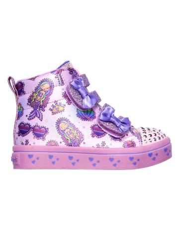 """Skechers Sneakers """"Twi-Lites"""" in Lila"""