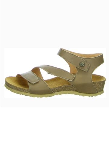 """Think! Leren sandalen """"Dumia"""" lichtbruin"""